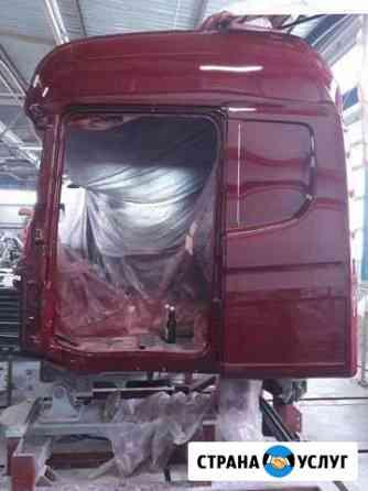 Покраска грузовых иномарок Пенза