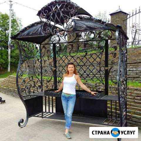 Художественная ковка Ворота,Перила, Лестницы Дубовое