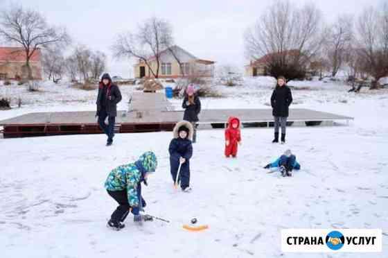 Новогодние Каникулы на Базе Отдыха Камызяк