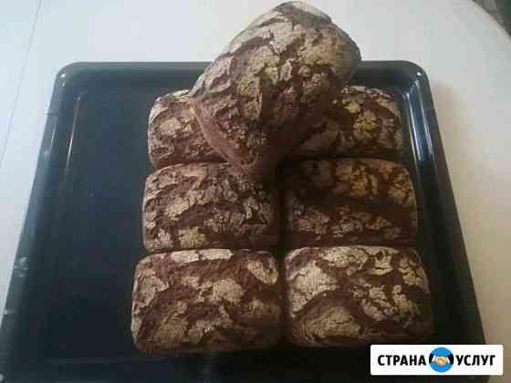 Хлеб из цельнозерновой эко муки на ржаной закваске Брянск