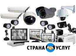 Видеонаблюдение,домофоны,автоматика ворот Красногвардейское