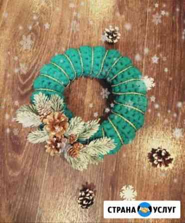 Новогодние венки Южно-Сахалинск