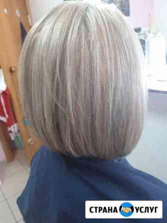 Окрашивание волос, стрижки Иркутск