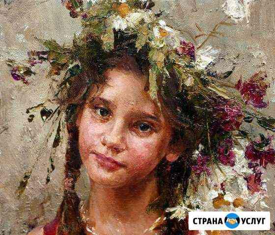 На заказ портрет маслом от художника Чита