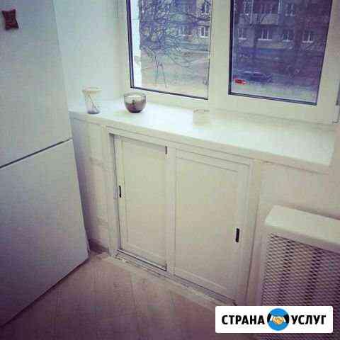 Установка алюминиевых шкафов Воскресенск