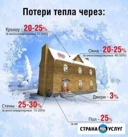 Услуги тепловизора-найдём утечку тепла-утепление Старый Оскол
