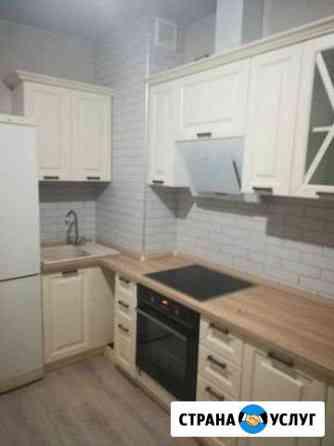 Сборка кухонной мебели, установка моек и варочных Тверь