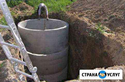 Монтаж колодцев глубиной 4 и более метра Ханты-Мансийск