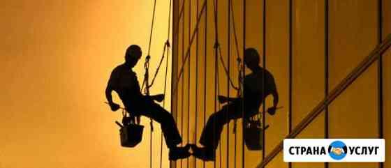 Промышленный альпинизм, высотные работы Чита