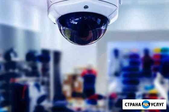 Монтаж видео наблюдения Челябинск