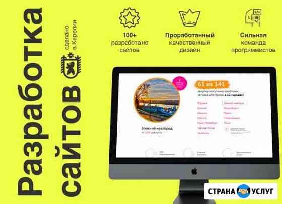 Разработка сайтов в Петрозаводске Петрозаводск