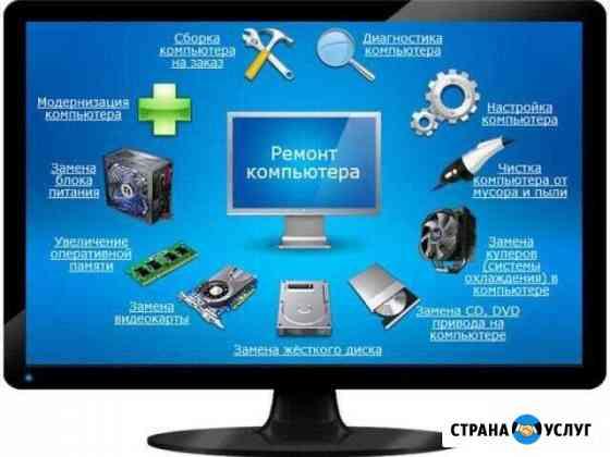 Установка виндовс и настройка пк Владивосток