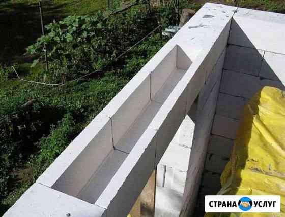Изготовление U/П-образных блоков из газобетона для Иваново