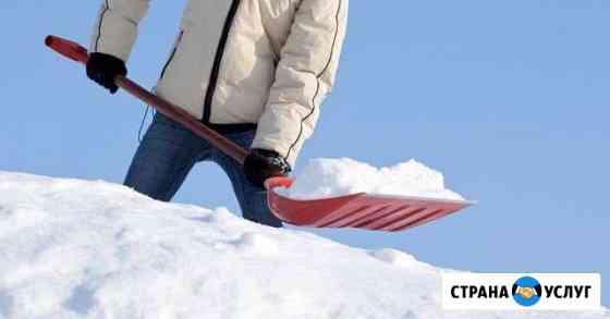 Уборка снега в ручную Череповец