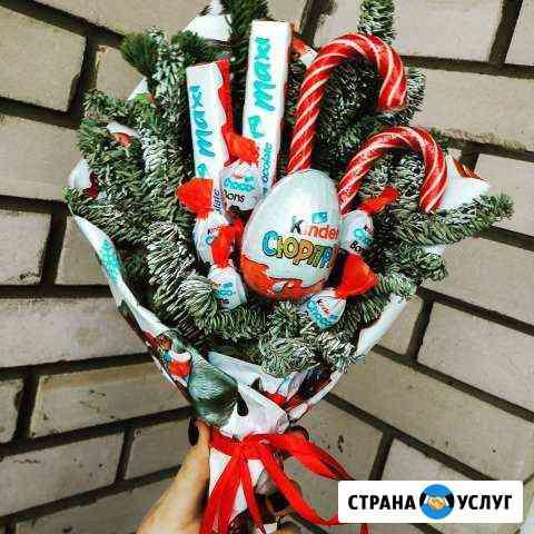 Новогодний букет Ижевск