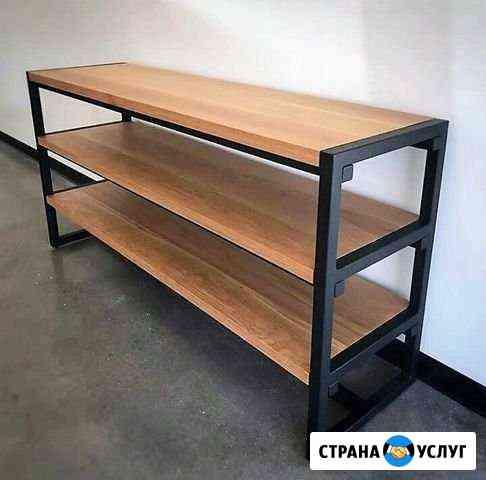 Изготовление мебели в стиле лофт Кузнецк