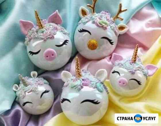 Новогодний декор Яблоновский