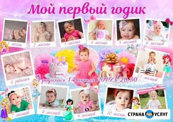 Плакаты на день рождение Пенза