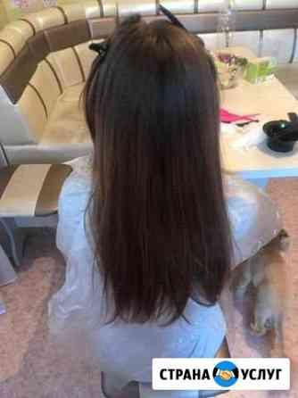 Кератиновое выпрямление волос, ботокс Тюмень