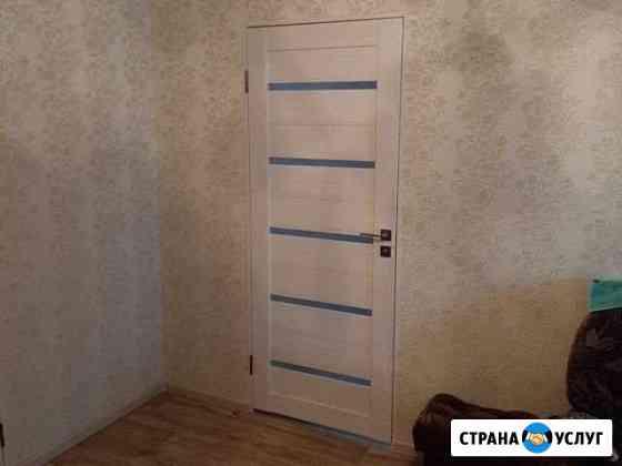 Монтаж-демонтаж межкомнтных и входных дверей Октябрьский
