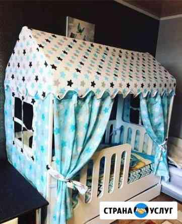 Крыша и текстиль для домик кроватки Нижний Новгород