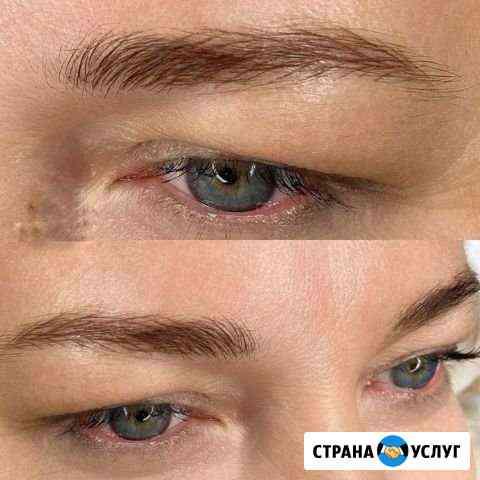 Перманентный макияж (татуаж бровей) Москва