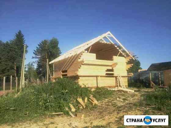 Брусовое строительство Красноярск