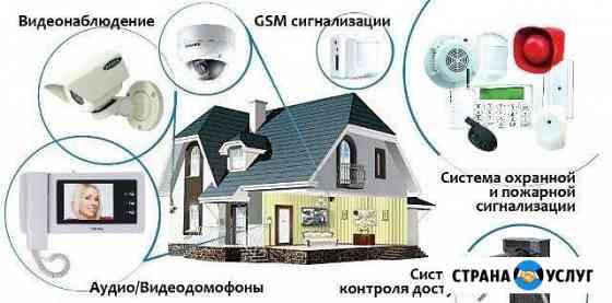 Видеонаблюдение, отопление, автоматизация, опс Новосибирск