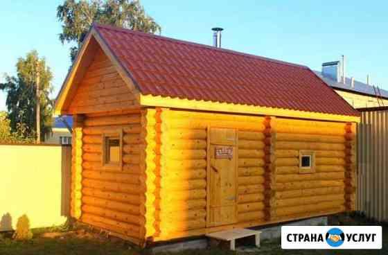 Баня из бревна 3x5 под ключ Нижний Новгород