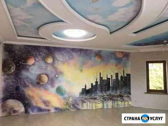 Художественная роспись стен любой сложности Орёл