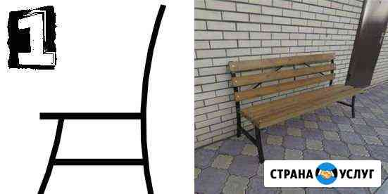 Лекала для изготовления опор скамеек Ростовка