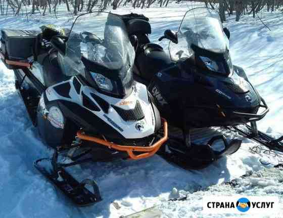 Туры на снегоходах Петропавловск-Камчатский
