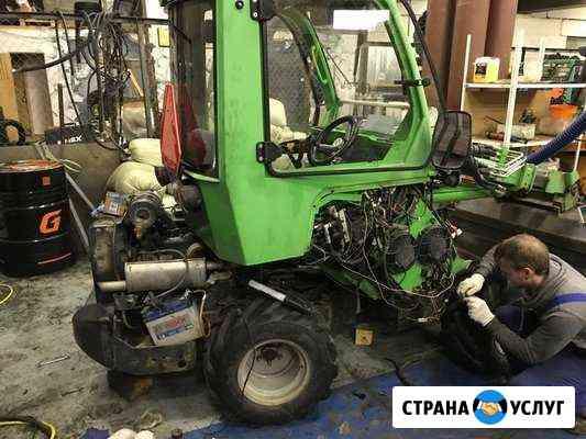 Обслуживание и ремонт погрузчиков и мини тракторов Подольск