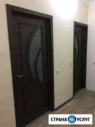 Установка межкомнатных дверей Оренбург