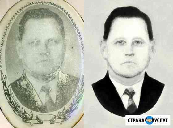 Реставрация старых фотографий, раскрашивание фото Иваново