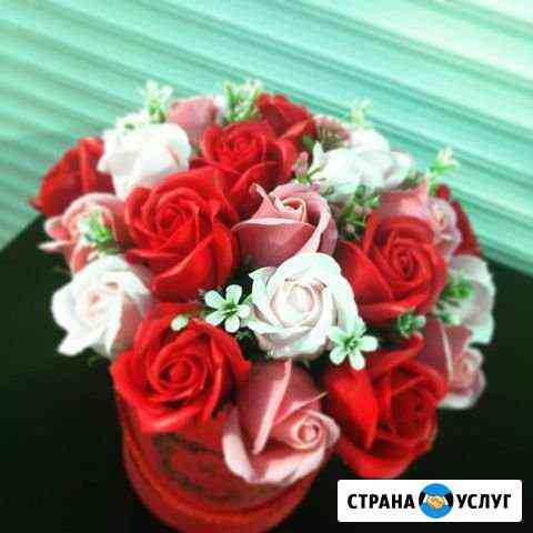 Букеты из мыльных роз Благовещенск