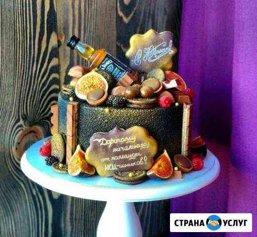 Торты,пряники,безе,кейк попсы (кенди бары) Тула