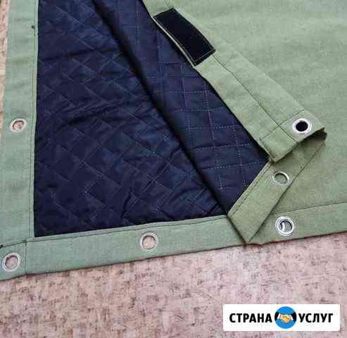 Пошив штор для ворот гаража Райчихинск