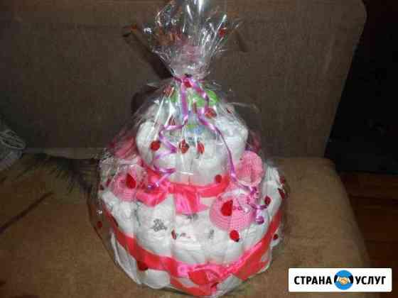 Торт из памперсов Курган