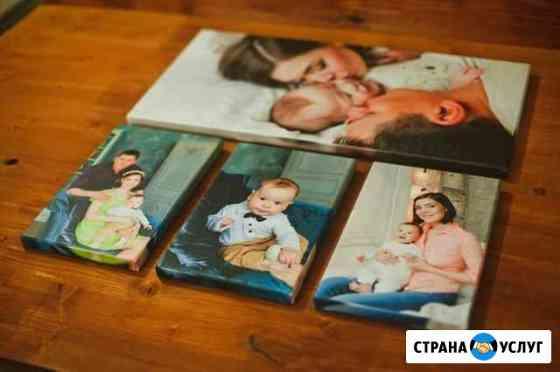 Печать фото на холсте Саранск