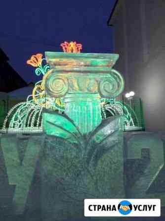 Лёд, скульптура Томск