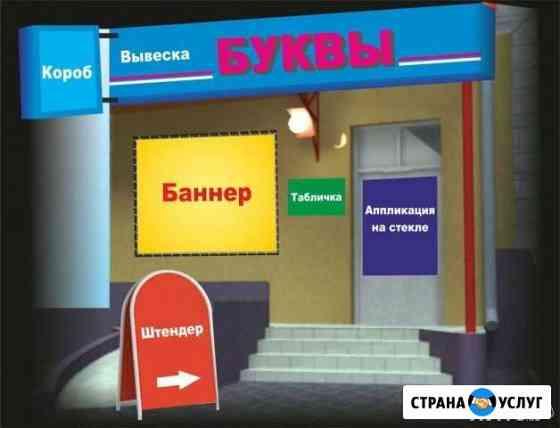 Баннеры, Самоклейка, Вывески, Стенды, Короба Киров