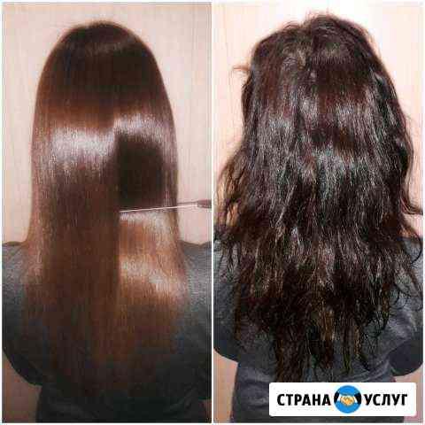 Нанопластика выпрямление волос Томск