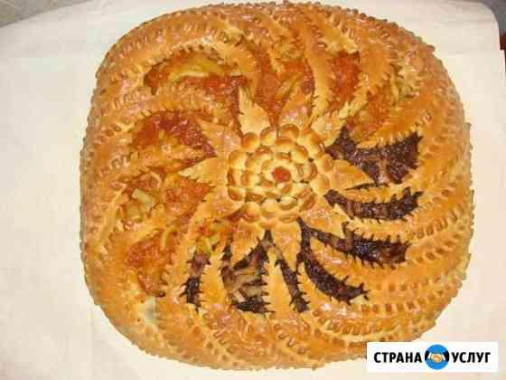 Праздничные пироги и рулеты на заказ Хабаровск