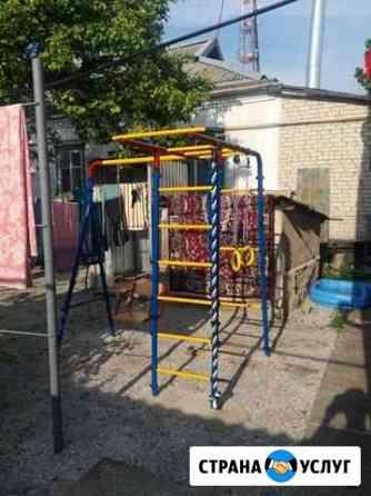 Установка детских спортивных площадок Приморско-Ахтарск