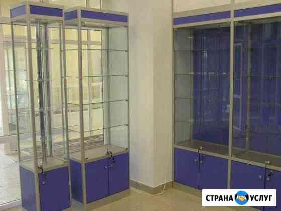 Торговое оборудование, витрины, стеллажи Омск