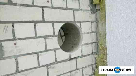 Алмазное бурение сверление отверстий бетон кирпич Пенза