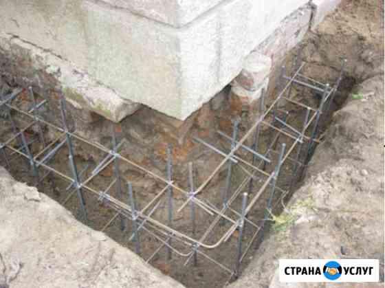 Укрепление фундаментов Минеральные Воды