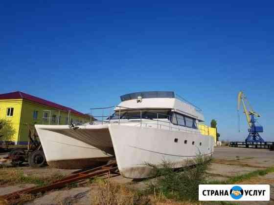 Стоянка, хранение яхт, лодок, катеров, судов Волжский