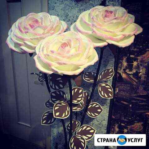 Ростовые цветы, цветы-светильники Волжский